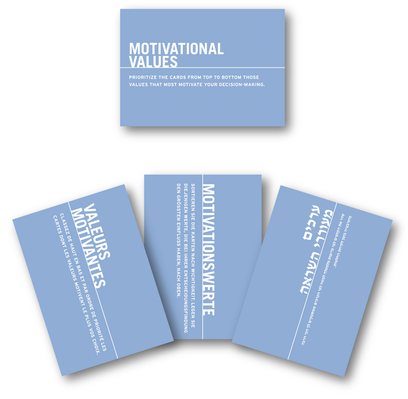 Motivational Values Cards